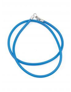 Каучуковий шнурок синій (3 мм)