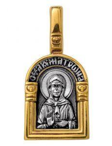 Образок Свята блаженна Матрона Московська. Ангел Хранитель