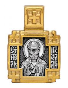 Образок Святитель Миколай, Мирлікійський Чудотворець. Ангел Хранитель