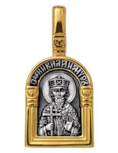 Образок Святий рівноапостольний великий князь Володимир. Ангел Хранитель