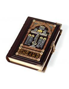 Біблія маленька (з емалями)