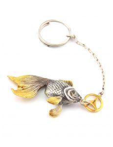 Брелок Золота рибка Мерседес