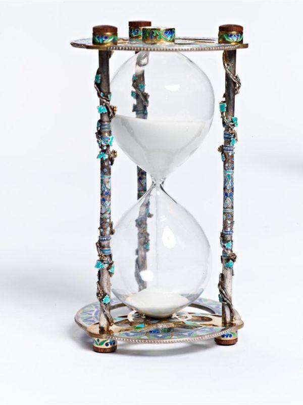 -10% Срібний пісочний годинник Змійки збільшити. Срібний пісочний годинник  ... 7537e50393ada