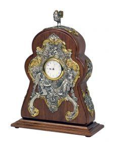 Годинник настільний з півнем