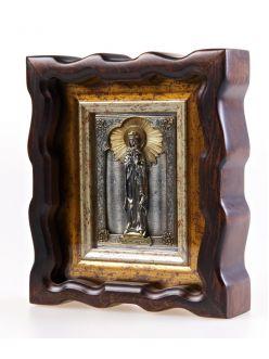 Срібна Ікона Свята мучениця Людмила