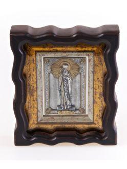 Срібна Ікона Святий цар Костянтин