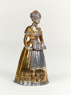 Срібний Дзвіночок дівчина з шарманкою