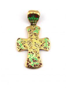 Хрест з емаллю Осінь