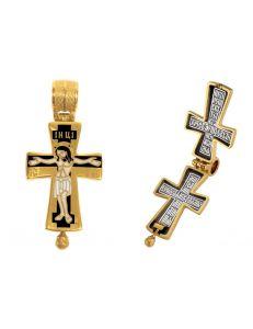 Хрест-мощовик Розп'яття. Святий Миколай Чудотворець
