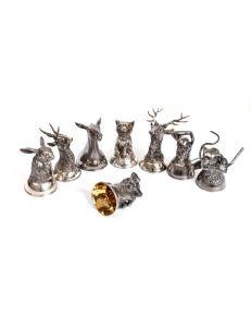 Набір срібних чарок
