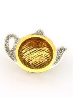 Срібне cитечко для чаю Чайник