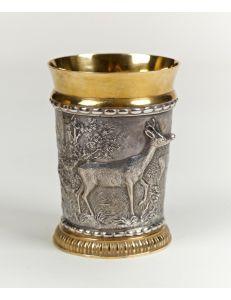 Склянка Полювання та олень