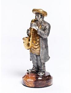 Статуетка Єврей з саксофоном 1348