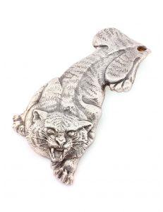 Затискач для грошей Тигр